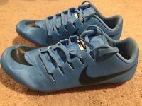 NWOB Nike Zoom Ja Fly 3 Track Spikes Men's US 10.5 Light Blue