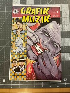GRAFIK MUZIK #1 First Madman Appearance in Color Copper Age Key 1990 Allred NM