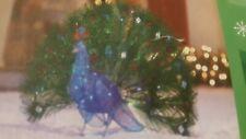 "36""   Splendor Peacock 90 multi LED Lights Christmas Outdoor Decoration"