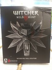 Witcher 3 Wild Hunt: Wolf Wall Sculpture by Dark Horse