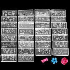 6 un. 3d Uñas De Acrílico Molde Arte Decoración hágalo usted mismo Decoración Diseño