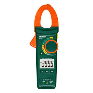 Extech MA440 AC Compact Clamp Meter, 400AAC, 600VAC/DC w/NCV Detector
