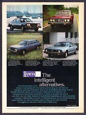 1976 Lancia Beta Coupe Sedan Estate Wagon Scorpion 4 photo vintage print ad