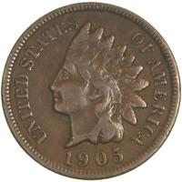 1905 Indian Head Cent Very Fine Penny VF