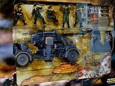 Krupp 88mm FlaK Gun  German Army  w / 5 figures FORCES OF VALOR 80034 1:32