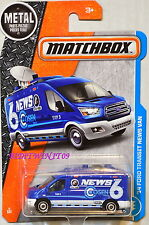 MATCHBOX 2017 METAL PARTS PIEZAS '14 FORD TRANSIT NEWS VAN