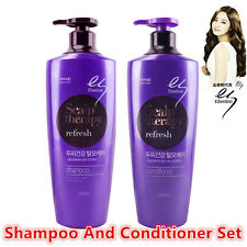 Elastine Scalp Therapy Refresh Shampoo and Conditioner Set, US Seller