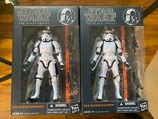 Star Wars Black Series Stormtrooper #09 Orange Line LOT Action Figure
