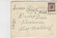 United Kingdom 1929 Newcastle-on-Tyne Cancel + Note inside Stamps Cover  R17425