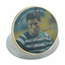 1998-2002 Cristiano Ronaldo Soccer Collector Rookie Coin