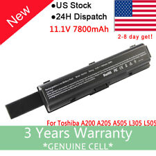 Battery For Toshiba Satellite L305D-S5974 TS-A200 L300 PA3534U-1BRS Laptop 9Cell
