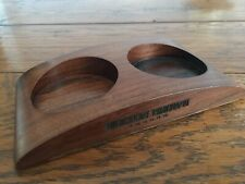 Molton Brown arc hand wash holder wood double soap dispenser holder