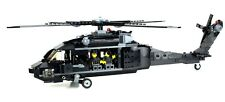 Custom Army Black Hawk Helicopter Military UH-60 minigun made with real LEGO®