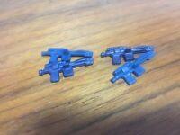 4 Original Vintage Star Wars Figures Imperial Blasters Weapons Kenner Palitoy
