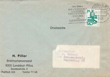 Germany 1972 Bayern 500 years Agricultural University Cover VGC