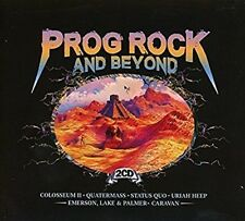 Prog Rock and Beyond 2CD Colosseum II Quatermass Status Quo Uriah Heep