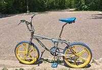 Details about  /PK Ripper BMX Bike SE Racing Polished Aluminum Old Mid School 2008
