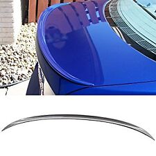 BMW 06-11 M3 STYLE TRUNK SPOILER UNPAINTED ABS FOR ALL E90 SEDAN *US SELLER!*