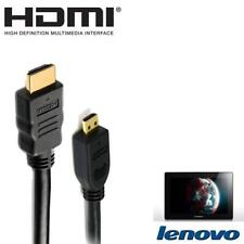 Lenovo IdeaTab S6000, Lynx K3011, Miix Tablet Micro HDMI to TV Monitor 2m Cable