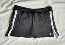 US Polo Assn Gray and White Skort, Tennis, Golf, Ladies Size Large
