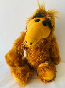 ALF Alien Productions Plush Soft Stuffed Toy Doll VINTAGE 1987 Coleco 45cm RARE