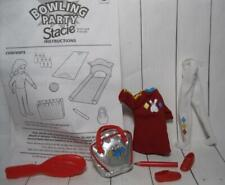 "new 1998 BOWLING PARTY 7"" STACIE/Whitney outfit clothes graphic t-shirt bag lot"