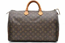 Authentic Louis Vuitton Monogram Speedy 40 Hand Bag M41522 LV 96078