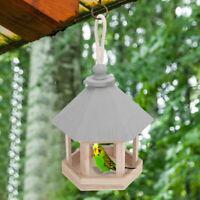 Durable Metal Wild Bird Feeder Seeds Feed Hanging Feeding Tray Garden Decoration