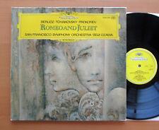 DG 2530 308 Romeo & Juliet Berlioz Tchaikovsky Prokofiev Seiji Ozawa EXCELLENT