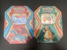 Pokemon TCG Tins Dollar General Salamence and Dragonite. DG SEALED Cards 6 Packs