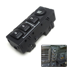 4WD 4x4 Transfer Case Selector Dash Switch for GMC Sierra Silverado 15136039
