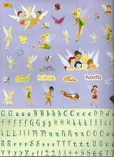 Disney TINKERBELL and FRIENDS Alphabet Scrapbook Stickers