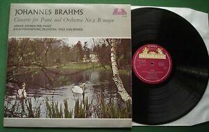 Brahms Concerto For Piano & Orch No. 2 Adrian Aeschbacher BPO 89 506 LP
