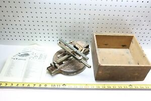 Rare & Early Antique 1890's Odell No. 3 Typewriter W/ Original Box & Manual! USA