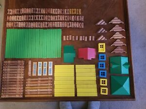 Lot Of 180 Lincoln Logs Mixed Lot