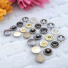 Ring Snaps, Prong with Button Cover 9.5,11,15 MM,CHOOSE COLOR & QUANTITIES USA