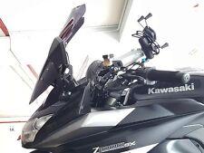 Adjustable Windshield Screen Adapter Kit (BLACK)- Kawasaki Z1000SX ('10 & '14MY)