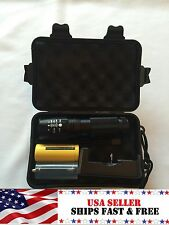 Shadowhawk X800 Tactical Flashlight Zoomable T6 LED Torch CREE Lamp Battery G700
