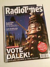 Radio Times 3 April - 6 May 2005 Doctor Who Christopher Eccleston Dalek