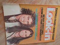 LOOK IN LOOK-IN Magazine 22 December 1973 SLADE Dennis Tueart - Marie
