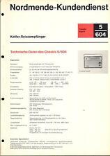 Nordmende Service Manual für Transita export 5.604