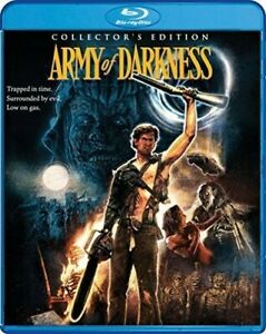 Army of Darkness (3 Disc, Collectors, Directors Cut, International) BLU-RAY NEW