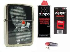 Zippo Blaisdell Replica Lighter  + Starter Pack mit Benzin,Docht,Feuersteine