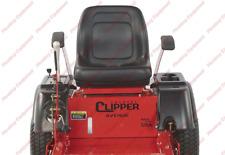 Lawn Garden Mower Seat - BLACK for Country Clipper Zero Turn Mower H-2393 H-2229