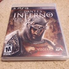 PS3 DANTES INFERNO DIVINE EDITION