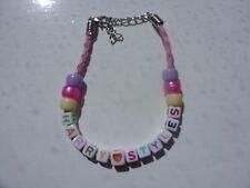 harry styles heart bead bracelet