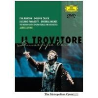 MARTON/PAVAROTTI/LEVINE/MOO - IL TROVATORE DVD NEU