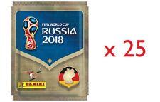 Panini FIFA WM 2018 Russia Sticker - 25 Tüten / 125 Sticker Deutsche Ausführung
