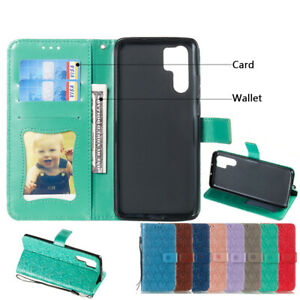 For Huawei P10 P20 P30 Pro Mate10 Luxury Leather Magnetic Flip Wallet Phone Case