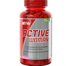 MET-Rx Active Woman Daily Multivitamin for the Athletic Female 90 Tabs EXP 12/19